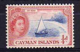 Cayman Islands - 1955 - ¼d Definitive (Watermark Multiple Script CA) - MH - Iles Caïmans