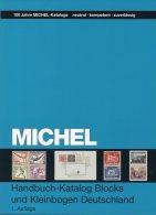 Michel Deutschland Spezial Block Katalog 2013 New 70€ Handbook With Special Bloc Sheetlet Se-tenant Catalogue Of Germany - Guides & Manuels