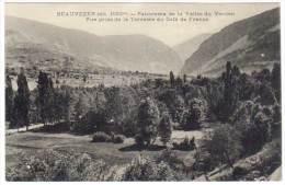 Beauvezer, Panorama De La Vallée Du Verdon, Vue Prise De La Terrasse Du Café De France - France