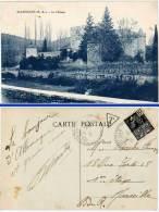 Allemagne, Le Château (cachet Perlé, Tampon Taxe) - France