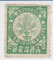 Brazil 1939 Scott # 477- 1st South American Botanical Congress MLH Catalogue $1.60 - Unused Stamps