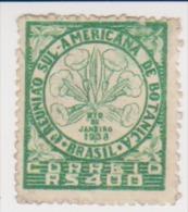 Brazil 1939 Scott # 477- 1st South American Botanical Congress MLH Catalogue $1.60 - Brazil