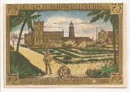 ALLEMAGNE / GERMANY - DEUTSCH SUDWEST AFRIKA  KOLONY - 75 PFENNIG 1922 / SERIE A - Deutsch-Suedwestafrika