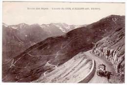 Lacets Du Col D'Allos (voiture) - France