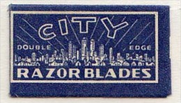 RAZOR BLADE RASIERKLINGE CITY  DOUBLE EDGE   Nicht Ohne Rasierer Gefüllt - Rasierklingen