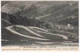 Route Des Alpes, Lacets Du Col D'Allos, Descente Sur Le Versant Du Verdon ... - France