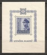CROACIA 1943 - Yvert #H6 - MNH ** - Croacia