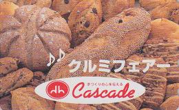 Télécarte Japon / 330-58574 - PAIN - Série Boulangerie CASCADE - BREAD Japan Phonecard - 49 - Food