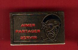 28948-pin's Association Saint Vincent De Paul.Aimer Servir Et Partager - Associations