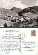 Montmaur, Vue Panoramique Du Village ... (cachet Perlé Hexagonal, La Gietaz) - Autres Communes