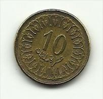 1997 - Tunisia 10 Millim, - Tunisia