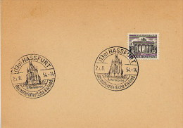 GERMANY  -     HASSFURT - Briefe U. Dokumente