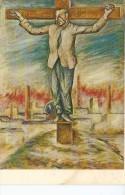 OTTONE ROSAL  L´UOMO CROCIFISSO    OHL - Peintures & Tableaux