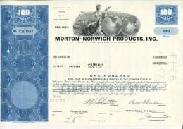 Morton Norwich Products Usa - M - O