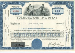 Abacus Fund Usa - A - C
