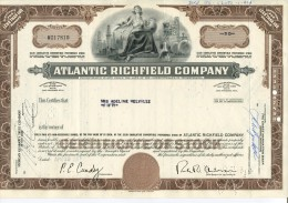 Atlantic Richfield Company Usa - Actions & Titres