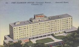 South Carolina Clemson The Clemson House Carolinas Newest Smartest Hotel - Clemson