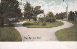 South Carolina Aiken Park Scene 1911 - Aiken