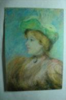 D 02 - Saint Quentin - Musée Antoine Lécuyer - Peinture De P.-A Renoir - Portrait De Melle Dieterie - Saint Quentin