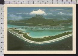 S5716 POLINESIA ARCIPELAGO DELLA SOCIETA ATOLLO CORALLINO Cartoline Dal Mondo De Agostini - Polinesia Francese