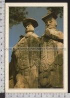 S5719 COREA PAJU LE COLOSSALI STATUE DI MIRUK Cartoline Dal Mondo De Agostini - Corea Del Sud