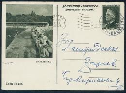 Illustrated Stationery -- Kraljevica. See Scan. - 1945-1992 Sozialistische Föderative Republik Jugoslawien