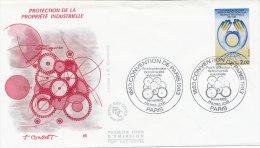 F.D.C. PROTECTION DE LA PROPRIETE INDUSTRIELLE.(Oblit . PARIS Du 14.5.1983) - 1980-1989