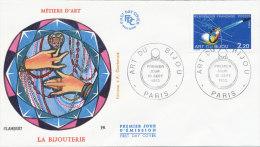 F.D.C. L'ART DU BIJOU (Oblit. PARIS 10.9.1983) - 1980-1989