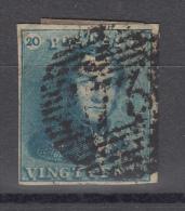 Nr 2, Stempel P73 ´Liege´, Cote = 65 € (X02216) - 1849 Epaulettes