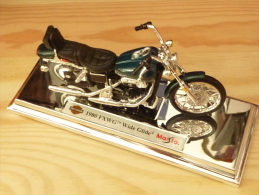 Maisto 39360, Harley Davidson FXWG Wide Glide, 1980, 1:18 - Motos