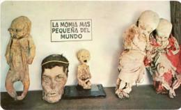 Cpa La Momie La Plus Petite Du Monde, La Momia Mas Pequena Del Mundo Mexique  (20.77) - Religioni & Credenze