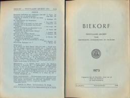 Brochure Tijdschrift Biekorf 1973 - - Historia