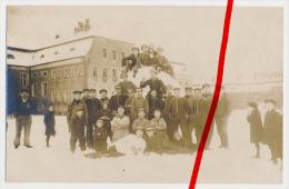 2 Postkarten - Original Fotos - 1918 - Wilhelmshaven - Matrosen Marine - II. Ers. See Batl. Nr. 1 - Leipzig