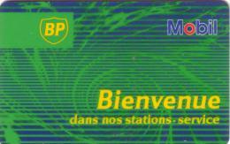 FRANCE CARTE BP MOBIL BRITISH PETROLEUM VERSO BACK FRENCH RADIO EUROPE 1 - Petrole