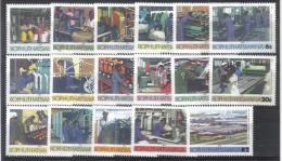 ANT - BOPHUTHATSWANA , La Serie 148/164  *** MNH - Bophuthatswana