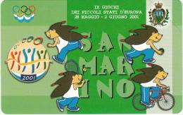 "SAN MARINO - IX Giochi Dei Picolli Stati D""Europa(TA), Tirage 10000, 05/01, Mint - San Marino"