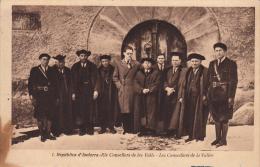 REPUBLICA D' ANDORRA ELS CONSELLERS DE LES VALLS- LES CONSEILLERS DE LA VALLÉE JOAN SALA FOT. - Andorra