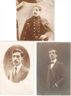 1914-1918 3e Régiment De Ligne-  3 Frères- Miltaire Belge Tombé Glorieusement Au Champ D´honneur. - Uniformes