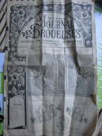 Le Journal Des Brodeuses Journal Professionnel De Broderie Loisirs Créatifs Premiers Juillet 1960 - Cross Stitch