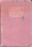 MANUALE DELL INGEGNERE CIVILE E INDUSTRIALE PER G. CLOMBO - ULRICO HOEPLI MILANO 1929 - Arte, Architettura