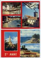 Guadeloupe--Sainte ANNE--2 Cartes  Multivues--cpm - Guadeloupe