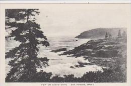 Maine Bar Harbor View On Ocean Drive Albertype - Vereinigte Staaten