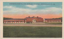 South Carolina Greenville Shriners Hospital For Crippled Childre
