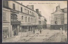 POISSY . Rue De Paris Et Entrée Du Vieux Pont . - Poissy
