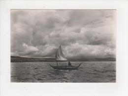 Bolivie Embarcation De Roseaux Sur Le Lac Titicaca Belle Carte - Bolivia