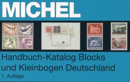 Michel Deutschland Spezial Block Katalog 2013 New 70€ Handbook With Special Bloc Sheetlet Se-tenant Catalogue Of Germany - Stamp Catalogues