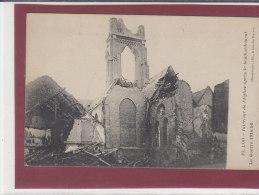 LOO .- Intérieur De L' Eglise Après Le Bombardement - Lo-Reninge