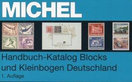 Michel Deutschland Spezial Block Katalog 2013 New 70€ Handbook With Special Bloc Sheetlet Se-tenant Catalogue Of Germany - Documents Historiques