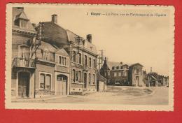 BLEGNY  -  La Place , Rue  De Fafchamps Et De L´Egalité - Blégny