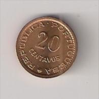 Mozambique 20 Centavos 1974. High Grade - Mozambique